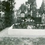 Hřbitov v r. 1940