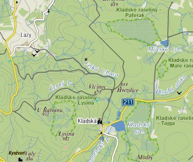 Mapa - Lazy