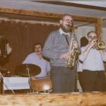 pan liebl se saxofonem