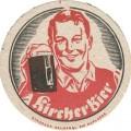Údajný tácek pivovaru Kostelní Bříza
