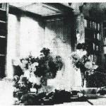 Místnost s rostlinami, zámek. R. 1945