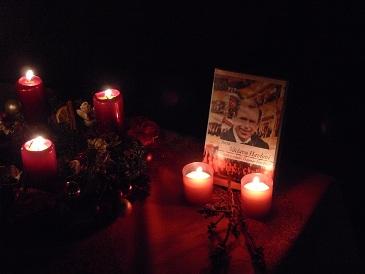 Památka na Václava Havla, zesnulého v den vánočního koncertu