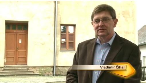 Vladimír Číhal. Kliknutím přejdete na video